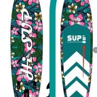 SUP/ Ván đứng bơm bơi HiSUP - Tropical