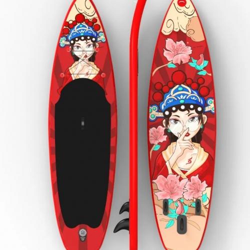 Red Queen SUP/ Ván đứng bơm bơi HiSUP